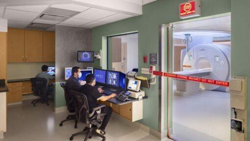 Cedars-Sinai Medical Center MRI Suite and Tech Gate