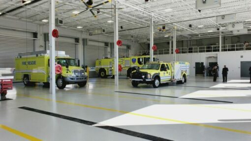 Greenville-Spartanburg International Airport, Aircraft Rescue and Fire Fighting Facility (ARFF)