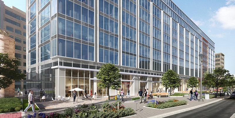 exterior ground floor rendering 20 massachusetts avenue nw