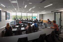 Carson headquarters design training auditorium