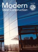 Image of cover of Modern Steel Construction