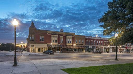 Revitalization and infrastructure improvements in David City, Nebraska