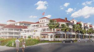 Hotel del Coronado view from lot