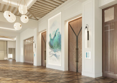 LEO A DALY's design for Shore House at the Del blends historic inspiration with modern luxury.