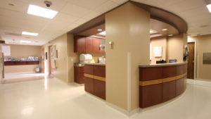 Nebraska Biocontainment Unit nurses station