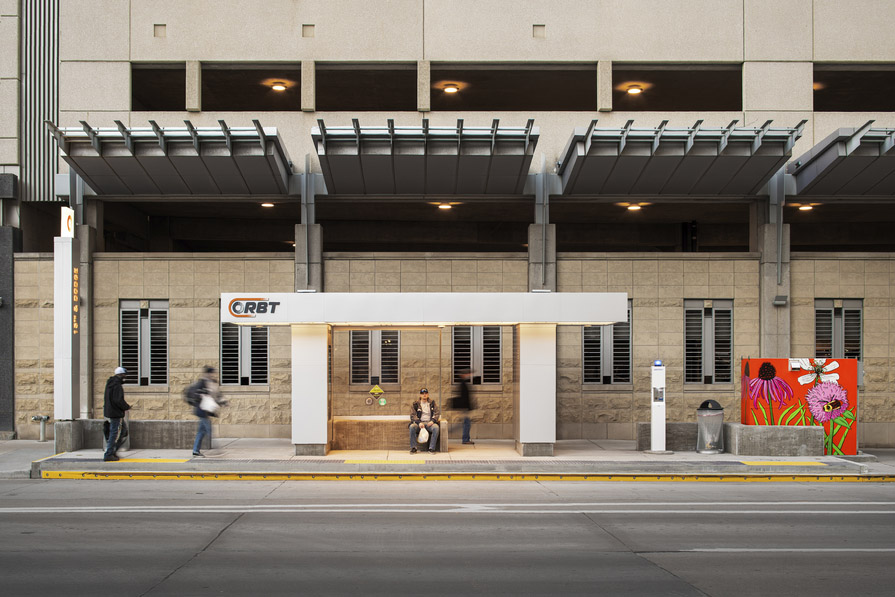 Omaha transit stations awarded 'Outstanding Achievement' for concrete design