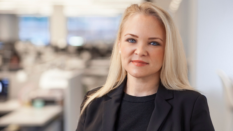 Kristina Crawley, AIA, promoted to vice president, global commercial practice leader