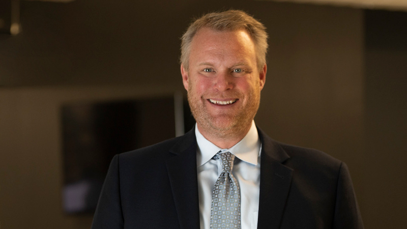 Eric Beazley, PE, leads LEO A DALY's food, distribution and manufacturing design practice in Minneapolis
