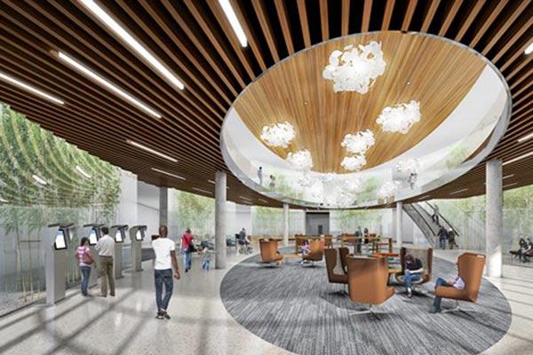 happy hospital design concept