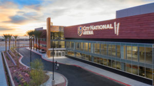 City National Arena, designed by LEO A DALY, brings the Las Vegas community close to Golden Knights action