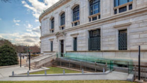 Exterior of the Corcoran School of the Arts & Design