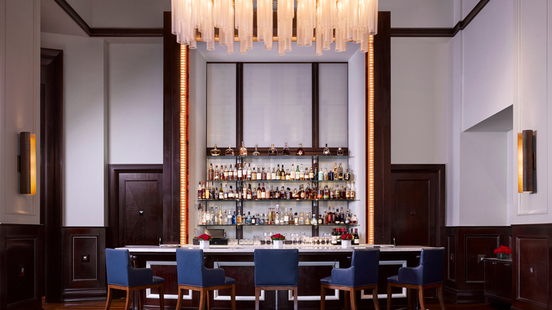 Prime bar at the Diplomat Beach Resort, designed by LEO A DALY