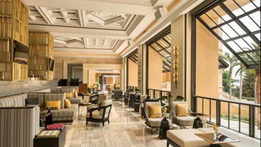 LEO A DALYs lobby design for Ritz-Carlton