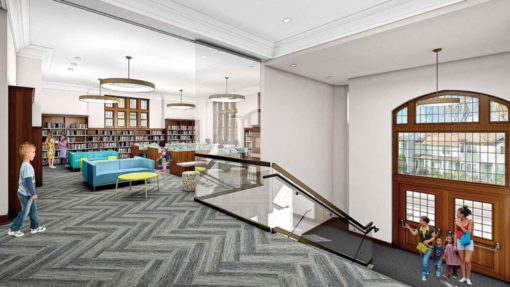 historic renovation of a carnegie library