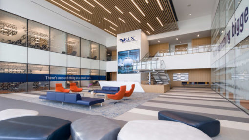 KLX Aerospace Headquarters lobby