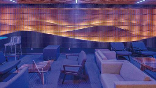 820 SF VIP lounge Leo A Daly