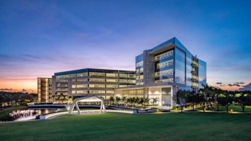 arthrex corporate campus exterior
