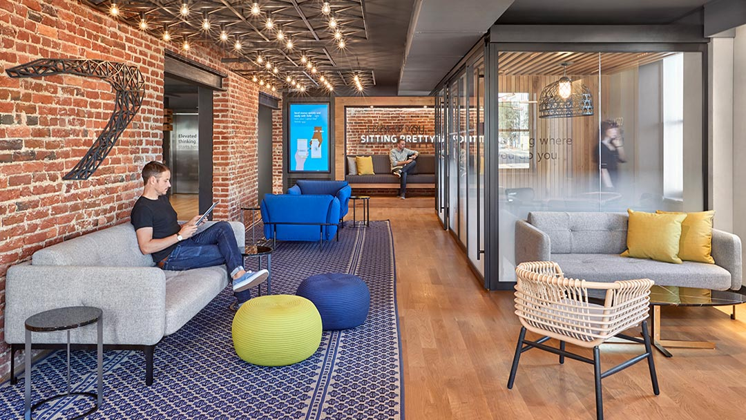 capital one bank cafes work space