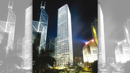 62 story cheung kong center impresses cityscape