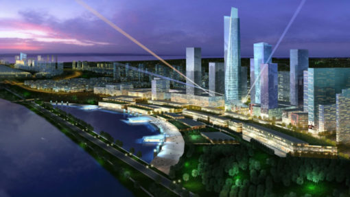 Yantai urban districts development project leoadaly