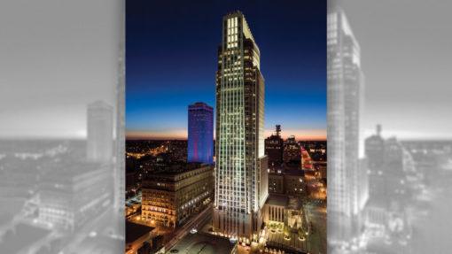Leoadalys master plan downtown Omaha First National Bank.