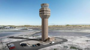 Construction begins on LEO A DALY-designed air traffic control tower in Mesa, Arizona