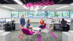 Medical Staffing office interior design project