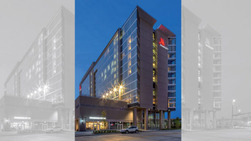 The 12-story Omaha Marriott Downtown Capitol District