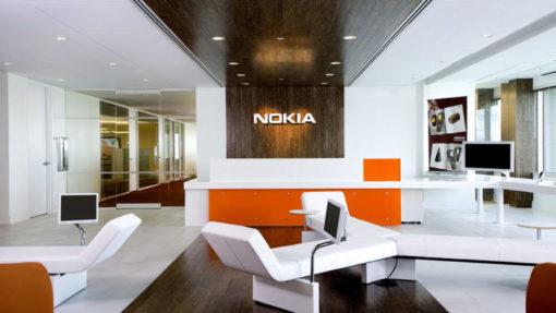 Fire and Ice interior design nokia headquarters