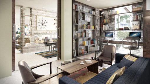 interior lobby alder apartments