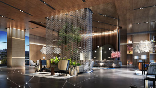 snow canyon resort concept lobby