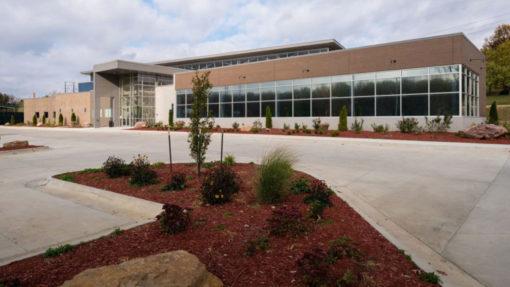 leoadaly community center project St. Joseph Missouri
