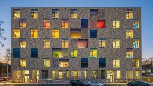 the aya residential housing exterior